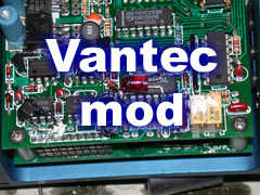 Vantec speed controller resetting?